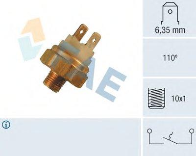 термовыключатель, сигнальная лампа охлаждающей жидкости FAE 35480 для авто AUDI с доставкой