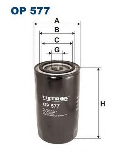 OP577 FILTRON Масляный фильтр