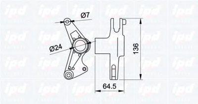 Натяж.планка MB W202/W124/W210/W140 M119/OM601-606 (коромысло) IPD 100693 для авто DAEWOO, MERCEDES-BENZ, PUCH, SSANGYONG с доставкой-1