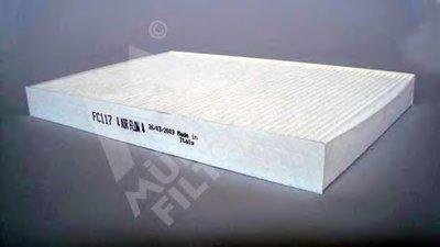 FC117 MULLER FILTER Фильтр, воздух во внутренном пространстве