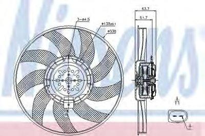 Вентилятор радіатора