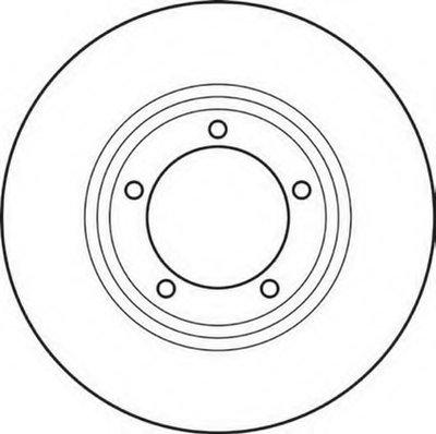 Тормозной диск JURID купить