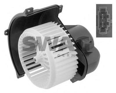 SWAG 30934788 Мотор обогревателя салона VW TOUAREG