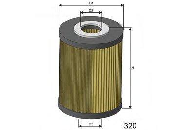 L077 MISFAT Масляный фильтр