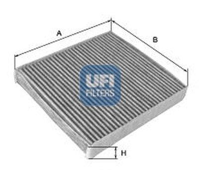 Фильтр, воздух во внутренном пространстве UFI купить