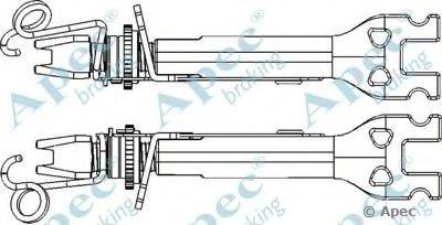 Система тяг и рычагов, тормозная система APEC braking купить