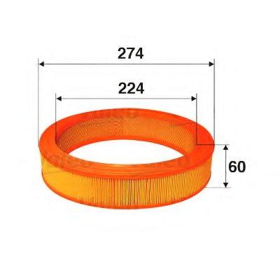 585620 VALEO Воздушный фильтр