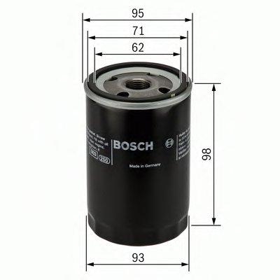 0986452024 BOSCH Масляный фильтр