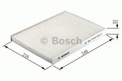 Фильтр салонный Bosch BOSCH 1987432357 для авто AUDI, MERCEDES-BENZ, PUCH, SEAT, SKODA, VW с доставкой