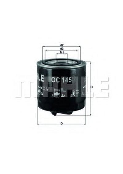 OC145 KNECHT Масляный фильтр