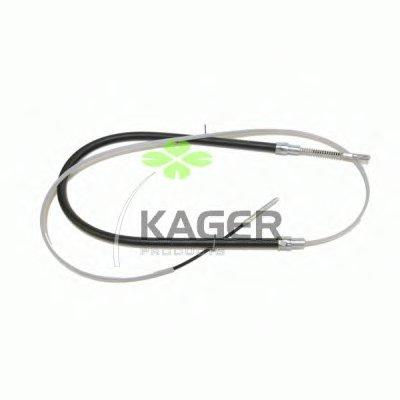 Трос, стояночная тормозная система KAGER купить