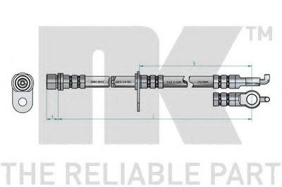 Автозапчасть/Шланг тормозной 8545136 NK 8545136 для авто TOYOTA с доставкой-1