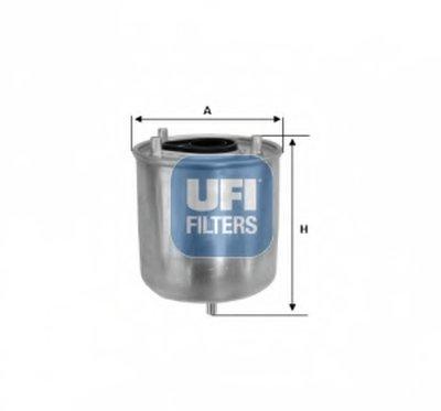 2412700 UFI Топливный фильтр