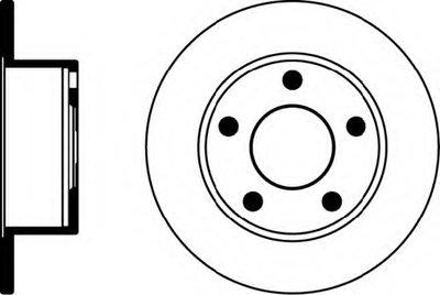 Гальмівний диск  DF2651