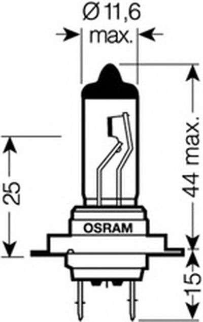 Лампа накаливания, фара дальнего света; Лампа накаливания, основная фара; Лампа накаливания, противотуманная фара; Лампа накаливания, основная фара; Лампа накаливания, фара дальнего света; Лампа накаливания, противотуманная фара; Лампа накаливания, фара с авт. системой стабилизации; Лампа накаливания, фара с авт. системой стабилизации; Лампа накали OSRAM купить