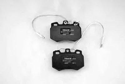 Комплект тормозных колодок, дисковый тормоз KLAXCAR FRANCE купить