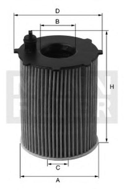 HU7033Z MANN-FILTER Масляный фильтр