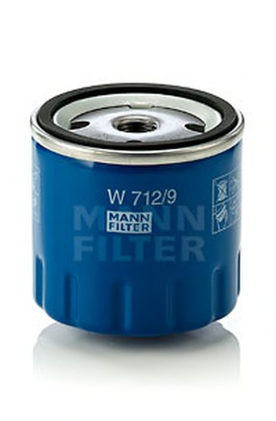 W7129 MANN-FILTER Масляный фильтр