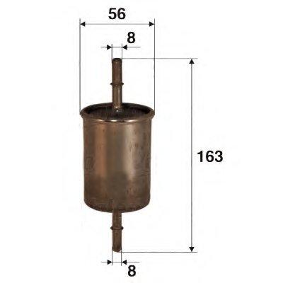 587008 VALEO Топливный фильтр