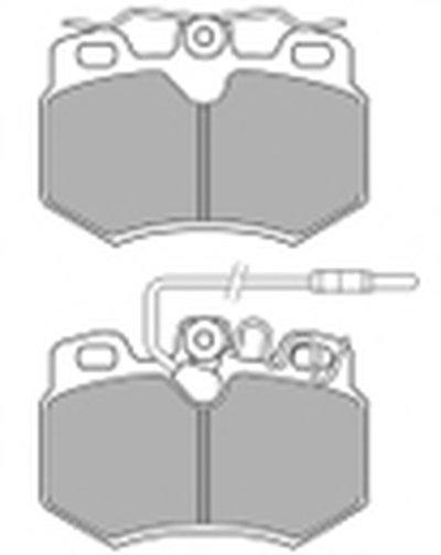 Комплект тормозных колодок, дисковый тормоз MAPCO купить
