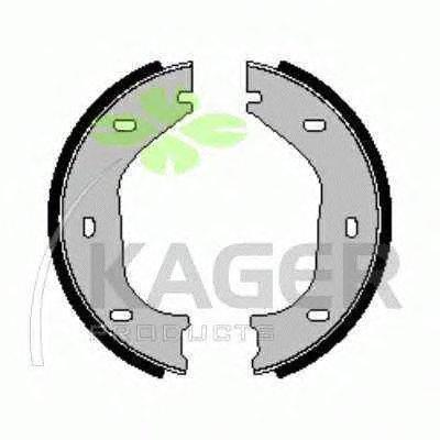 Комплект тормозных колодок, стояночная тормозная система KAGER купить