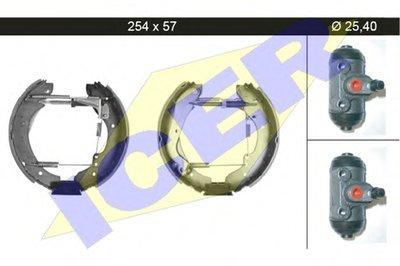 Комплект тормозных колодок ICER купить
