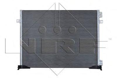 Радатор Кондицонера NRF 35482 для авто NISSAN, OPEL, RENAULT с доставкой-1