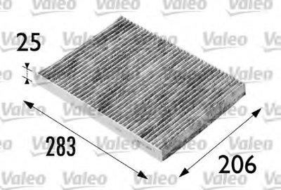 698686 VALEO Фильтр, воздух во внутренном пространстве