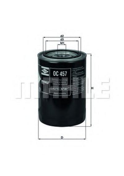OC457 KNECHT Масляный фильтр