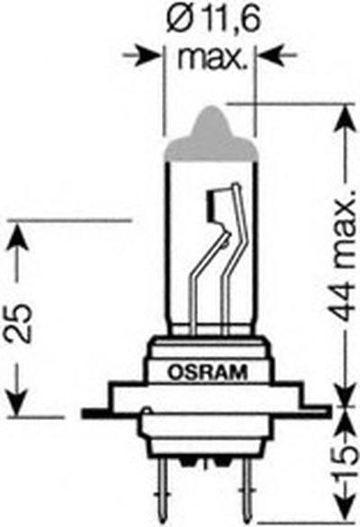 Лампа накаливания, фара дальнего света; Лампа накаливания, основная фара; Лампа накаливания, противотуманная фара; Лампа накаливания, основная фара; Лампа накаливания, фара дальнего света; Лампа накаливания, противотуманная фара; Лампа накаливания, фара с авт. системой стабилизации; Лампа накаливания, фара с авт. системой стабилизации; Лампа накали NIGHT RACER® 110 OSRAM купить