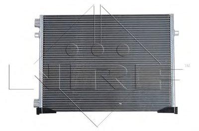 Конденсатор, кондиционер NRF 35482 для авто NISSAN, OPEL, RENAULT с доставкой-2
