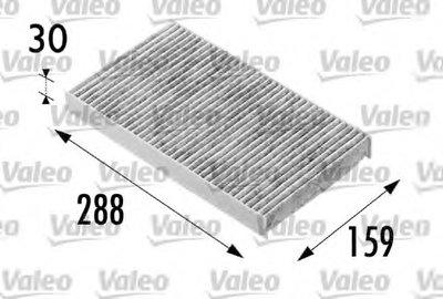 698687 VALEO Фильтр, воздух во внутренном пространстве