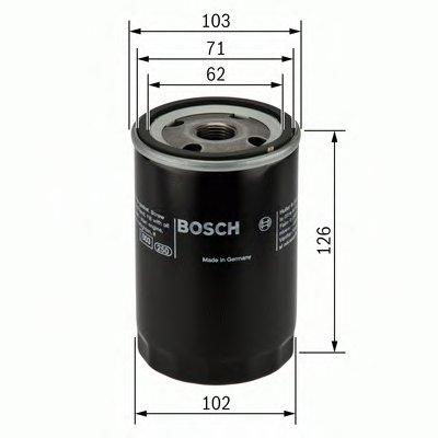 0986452042 BOSCH Масляный фильтр
