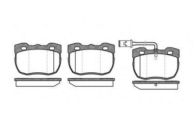 Комплект тормозных колодок, дисковый тормоз REMSA купить