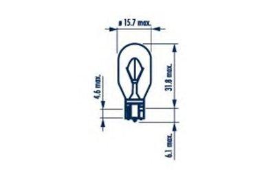 Лампа накаливания, фонарь указателя поворота; Лампа накаливания, фонарь сигнала торможения; Лампа накаливания, задняя противотуманная фара; Лампа накаливания, фара заднего хода; Лампа накаливания, задний гарабитный огонь; Лампа накаливания, фонарь сигнала торможения; Лампа накаливания, фара заднего хода; Лампа накаливания, задний гарабитный огонь; NARVA купить