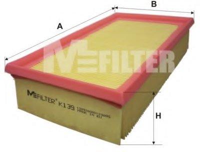 Воздушный фильтр MFILTER купить