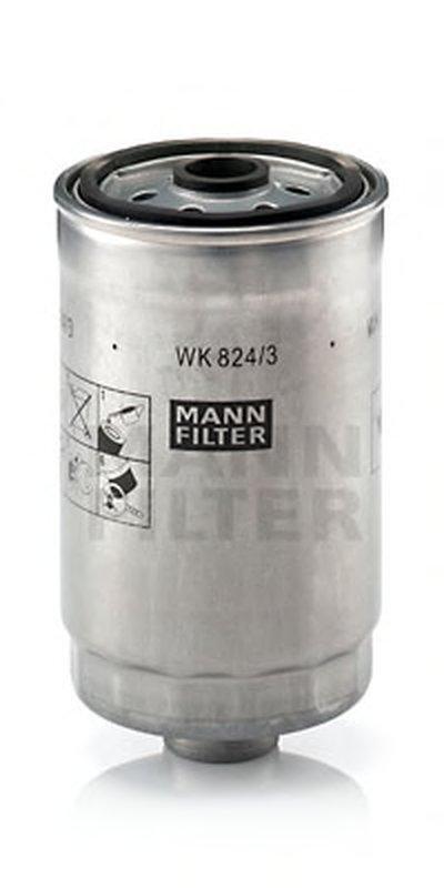 WK8243 MANN-FILTER Топливный фильтр