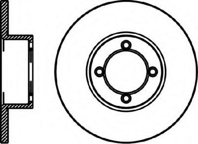 92010700 TEXTAR Тормозной диск