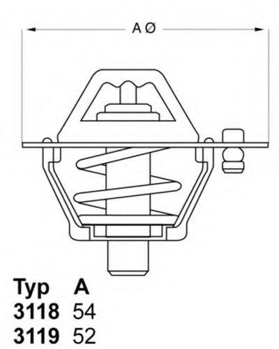 Термостат Toyota Corolla Liteace Starlet