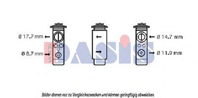 Расширительный клапан, кондиционер AKS DASIS купить