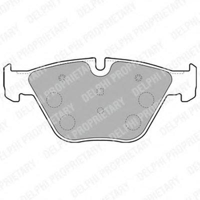 Тормозные колодки DELPHI LP1794 для авто BMW с доставкой