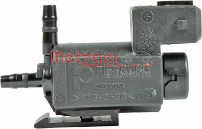 Клапан, управление рециркуляция ОГ; Клапан, управление воздуха-впускаемый воздух; Переключающийся вентиль, перекл. клапан (впуск.  газопровод); Переключающийся вентиль, заслонка выхлопных газов; Переключающийся вентиль, подвеска двигателя; Клапан, компрессор - клапан Bypass genuine METZGER купить