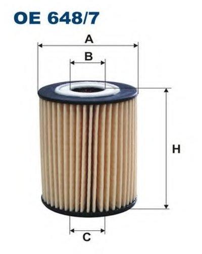 OE6487 FILTRON Масляный фильтр