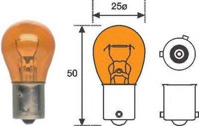 Лампа накаливания, фонарь указателя поворота; Лампа накаливания MAGNETI MARELLI купить