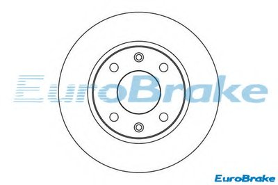 Тормозной диск EUROBRAKE купить