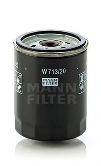 W71320 MANN-FILTER Масляный фильтр