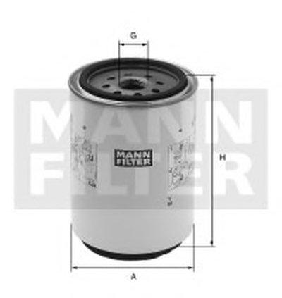 WK933X MANN-FILTER Топливный фильтр