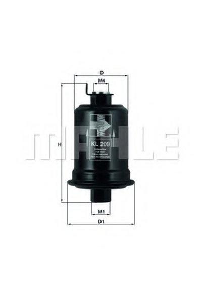 KL209 KNECHT Фильтр топливный