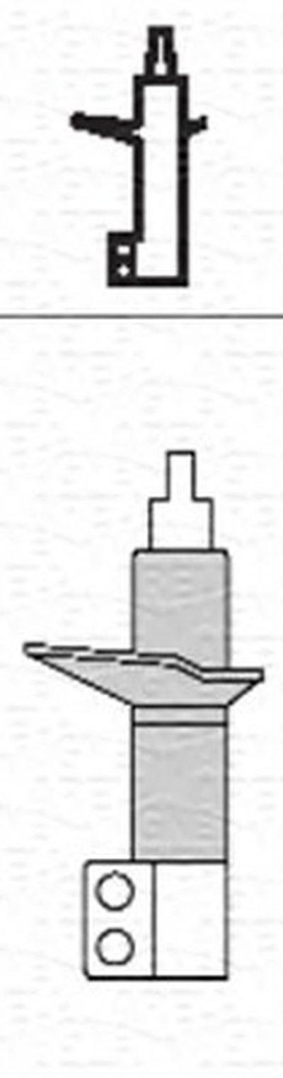 1814G Амортизатор MAGNETI MARELLI 351814070000 для авто CITROËN, FIAT, PEUGEOT с доставкой