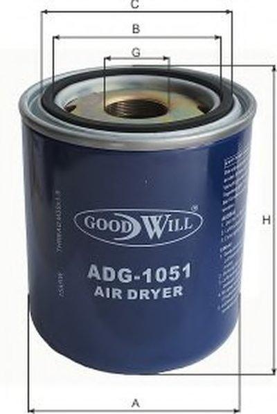 ADG1051 GOODWILL Гидрофильтр, тормозная жидкость